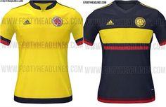 Nueva Camiseta Selección Colombia Copa América 2015