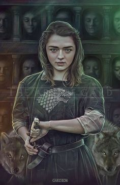 Arya Stark from Game of Thrones high quality art print) Related Post New Grisly & Beautiful Game of Thrones Season. Game of Thrones Arya Stark game of thrones aesthetic Dessin Game Of Thrones, Arte Game Of Thrones, Game Of Thrones Artwork, Game Of Thrones Arya, Game Of Thrones Poster, Maisie Williams, Winter Is Here, Winter Is Coming, Game Of Trones