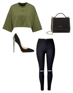 """""""Untitled #290"""" by lignonolivia on Polyvore featuring Cerasella Milano and Givenchy"""