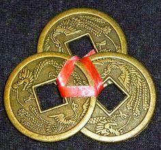 El poder de las piedras preciosas: Las monedas chinas Feng Shui, Coins, Money, Personalized Items, Vip, Yoga, Tatoo, Faceted Glass, Elixir Of Life