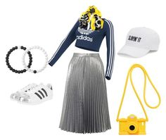 """Untitled #2"" by marian-shelton-turner on Polyvore featuring Miss Selfridge, adidas Originals, Moschino, SO, Black and Lokai"