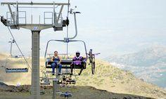 Sierra Nevada, estación de esquí y snow en Granada. - Ski lifts open