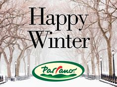Happy first day of Winter from all of us at Parrano!