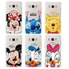 For fundas Samsung Galaxy J5 case Lovely Minnie Soft Silicone case for coque Galaxy J5 cover for Samsung Galaxy J5 2016 case