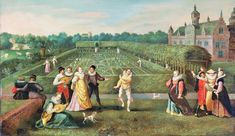 It's About Time: Strolling in the Garden - Hieronymus Francken I (c 1540-1610)