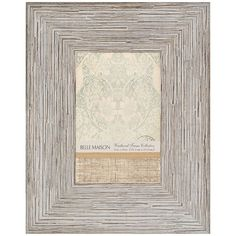 Belle Maison 4'' x 6'' Distressed Frame ($7.99) ❤ liked on Polyvore featuring home, home decor, frames, belle maison picture frames, weathered frames, plastic frames, colored picture frames and plastic picture frames