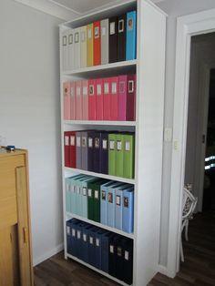 Album Storage Shelves   Scrapbook.com