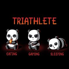 Triathlete - This t-shirt is only available at TeeTurtle! Exclusive graphic designs on super soft 100% cotton tees.
