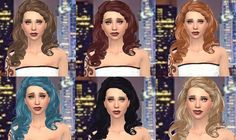 Simstemptations: Marina hair • Sims 4 Downloads
