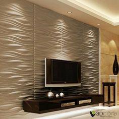 INREDA Panel Decorativo 3D de 3dcora.es & Interior Wall Design Ideas u2013 Living Room 3D Wall Panels | wall ...
