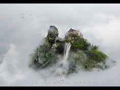 Speed Art Surreal-Fantasy Moment - (#Photoshop)|# SACRED MOUNTAI|Manipul...