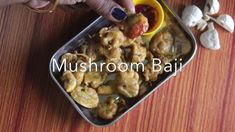 Mushromm Baji recipe