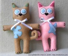 CRAFTY CORNER: Softies…patterns