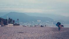 #beach #man #mountains #people #sea #summer #sun #view