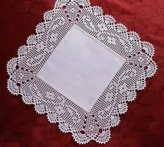Hardanger crochet patchwork cover with delicate floral ornaments Color: White Material: Cotton Crochet Nadelstärke: mm Size: approx. Cotton Crochet, Thread Crochet, Hand Crochet, Crochet Lace, Crochet Table Runner Pattern, Crochet Tablecloth, Crochet Doilies, Crochet Borders, Crochet Patterns