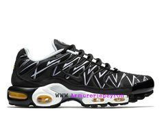 brand new 2b9d8 32213 Nike Air Max Plus Tn Ultra Le Requin AJ6311-001 Baskets Camouflage Pas Cher  Homme
