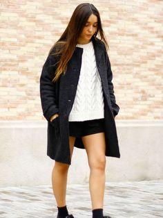 Abrigo Oversize http://miandco.es/p/mujer-abrigo-ines-