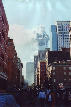 9/11 I remember being frozen everything seemed so unreal.  We will never forget.