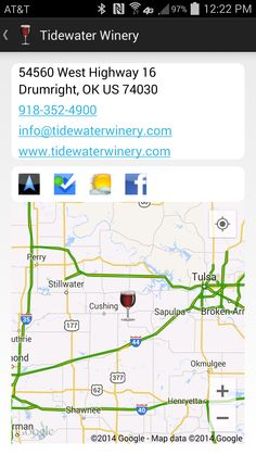 Tidewater Winery, Drumright OK