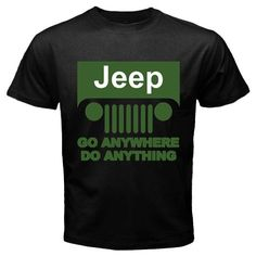 Jeep Chrysler Fiat Willys off-road vehicle sport utility vehicle Vintage Tees S M L XL 2XL   Recommended T Shirt Store  $13