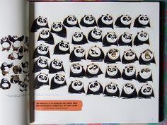 Art book Kung Fu Panda