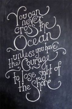 Ocean Courage Quote