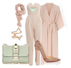 """""""Hijab Outfit"""" by le-hijab-de-doudou ❤ liked on Polyvore featuring Forever 21, Tome, Carbon & Hyde, AX Paris, Alexis Bittar, Christian Louboutin and Valentino"""
