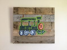 Train20x20train decorWall Artnursery train by RusticTreeHouse, $80.00