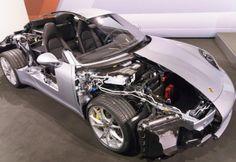 2017 Porsche 911 Turbo Engine