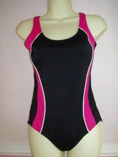 Purple girls Speedo endurance swim size 8 10 Swimming Costume suit BNWT 32/'