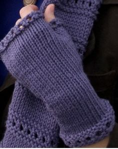 Beginner Montgomery Fingerless Mitts tutorial