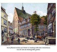 Bildergalerie: Historische Ansichten Hamburger Kirchen und Klöster - hamburg.de