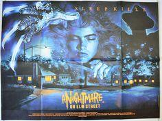A Nightmare On Elm Street - Original British Quad Movie Poster