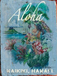 Aloha Custom Sign