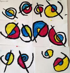 Alexander Calder spirales graphisme grande section maternelle Alexander Calder, School Art Projects, Art School, Constellation Art, Constellations, Candy Art, Line Lesson, Color Psychology, Simple Art