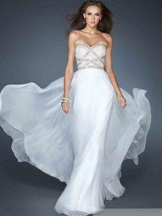 A-line/Princess Sleeveless Sweetheart Beading Chiffon Floor-length Dress