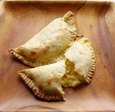 These vegetarian empanadas are creamy, sweet and salty. They are ridiculously easy to prepare and make very satisfying snack or side dish....