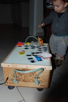 Table lumineuse_Charlie petit chou Sensory Play, Toy Chest, Children, Kids, Creative, Toys, Games, Lightbox