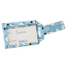Duck Tape Gift Tag