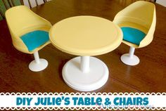 Julie's Table and Chairs