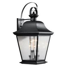 Kichler Mount Vernon 9703 Outdoor Wall Lantern - 16 in. - 9703