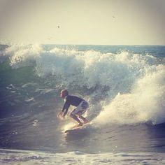 My boyfriend surfing