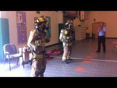 Hudson VFD Fire Prevention Week- Chicken Dance - This is a great idea!