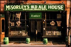 Pubs of the World: McSorley's Old Ale House New York, USA