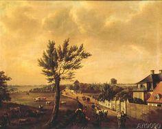 Johann Christian Clausen Dahl - The Coastal Road, Copenhagen
