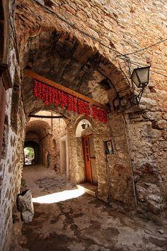 Medieval village of Mesta in Chios