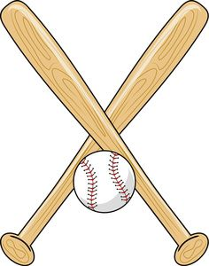 baseball clip art sports clip art of a baseball bat and ball with rh pinterest com baseball bat clipart png baseball bat clip art free printable