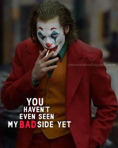 Best Attitude Status Dp for Girls, Girl Shayari Dp Attitude Quotes For Boys, Positive Attitude Quotes, Girl Attitude, Mood Quotes, Girl Quotes, Attitude Status Boys, Status Quotes, Reality Quotes, Joker Love Quotes