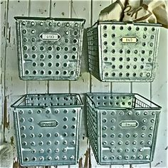 Locker storage bins for the pantry