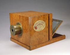 The world's oldest existing camera, made in 1839 by the brother in law of Louis Daguerre.